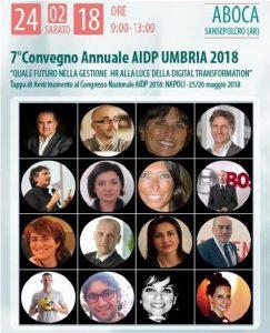 Settimo convegno annuale AIDP Umbria 2018